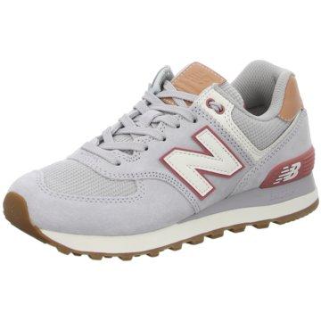New Balance Sneaker LowWL574 B - 819681-50 grau