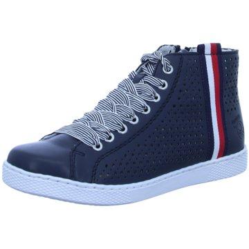 Rieker Sneaker High blau