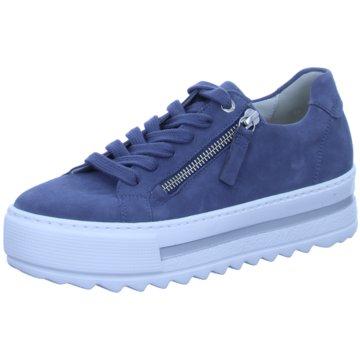 Gabor Plateau SneakerSneaker blau