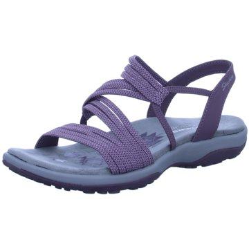 Skechers Komfort Sandale lila