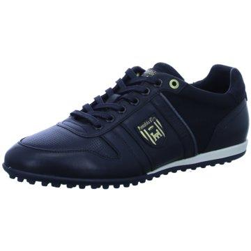 Pantofola d` Oro Sportlicher Schnürschuh schwarz