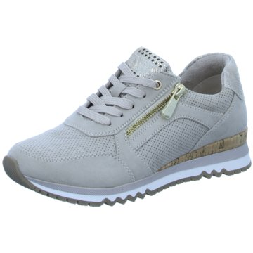 Marco Tozzi Sneaker LowDa.-Schnürer beige