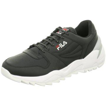 Fila Sneaker Low schwarz