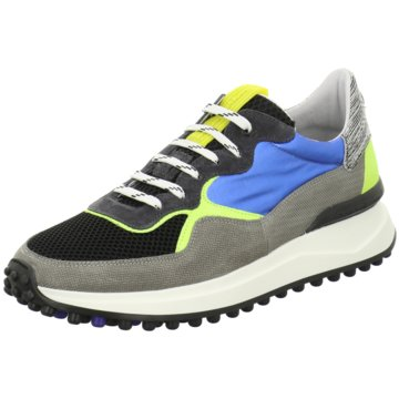 Floris van Bommel SneakerFloris Sport Blue Textile schwarz