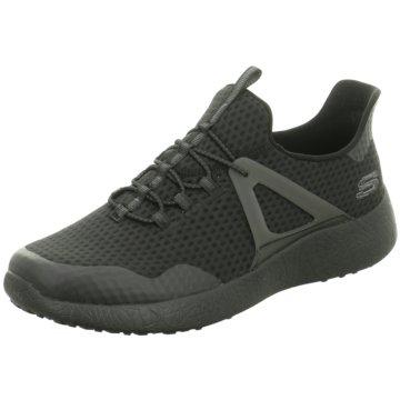 Skechers Sneaker LowBurst Shinz schwarz