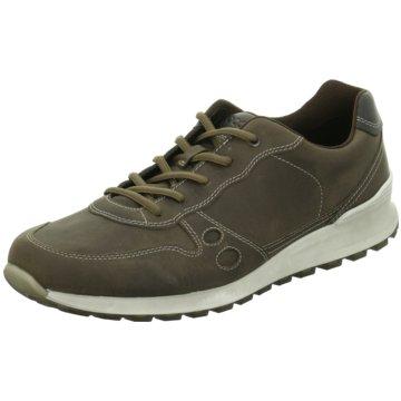 Ecco Sportlicher SchnürschuhSneaker braun
