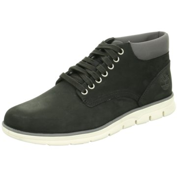 Timberland Sneaker HighBradstreet Chukka Leather Sneaker Herren Schuhe schwarz schwarz