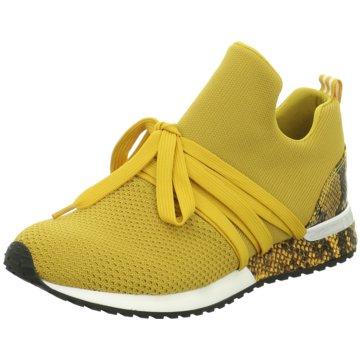La Strada SneakerSneaker with laces gelb