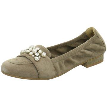 SPM Shoes & Boots Klassischer Ballerina braun