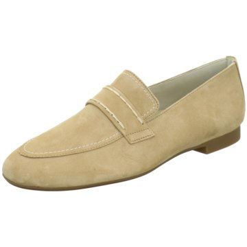 Paul Green Mokassin Slipper2504 beige