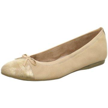 Tamaris Klassischer BallerinaBallerina beige