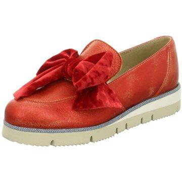 Accatino Klassischer Slipper rot