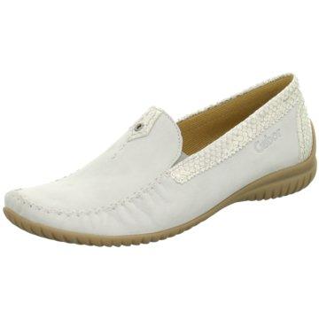 Gabor Komfort Slipper weiß