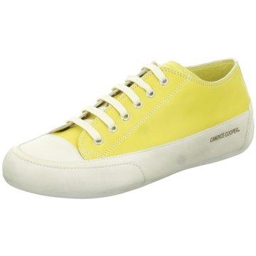 Candice Cooper Sportlicher SchnürschuhRock 01 gelb