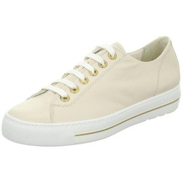 Paul Green Sportlicher SchnürschuhSneaker beige