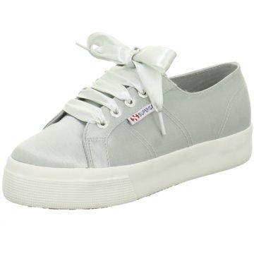 Superga Plateau Sneaker grau