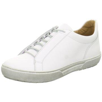 Dessy Sportlicher Schnürschuh weiß