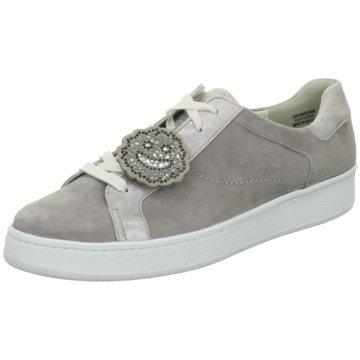Paul Green Sneaker LowVeloursleder/Doublef grau