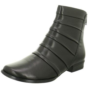 Canal Grande Klassische Stiefelette schwarz