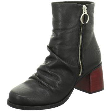MACA Kitzbühel Klassische Stiefelette schwarz