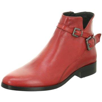 Mitica Klassische Stiefelette rot