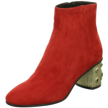 Elvio Zanon Klassische Stiefelette rot