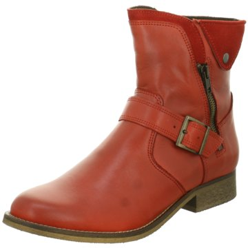 Online Shoes Klassische Stiefelette rot