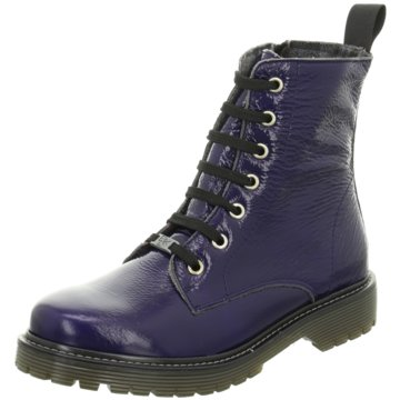 Black Boots blau