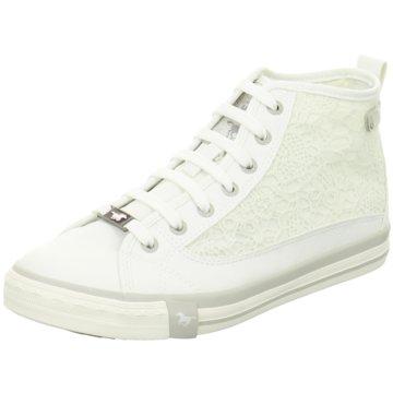 Mustang Sneaker High weiß