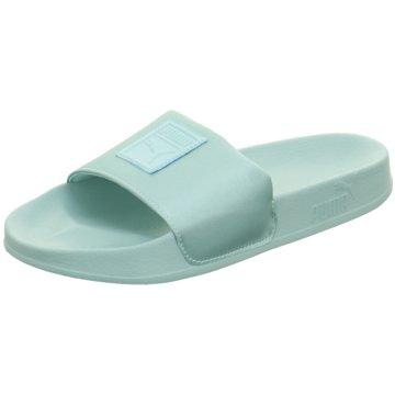 Puma Badeschuh blau