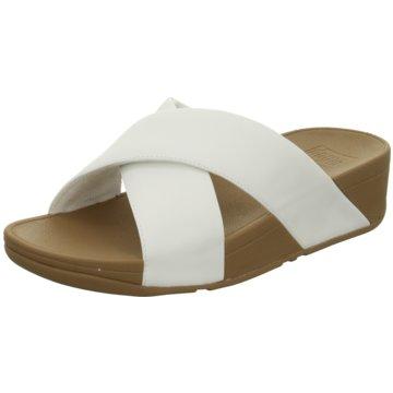 FitFlop Klassische Pantolette weiß