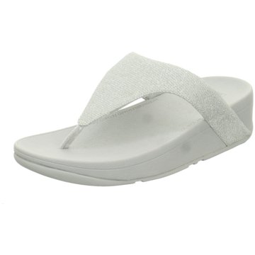 FitFlop Bade-Zehentrenner silber