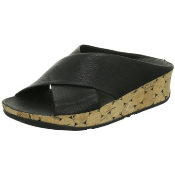 FitFlop Komfort PantoletteKYS schwarz