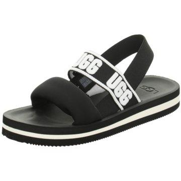 UGG Sandale schwarz