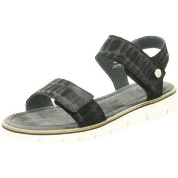 Ca`Shott Sandale schwarz
