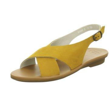 Paul Green Top Trends Sandaletten gelb