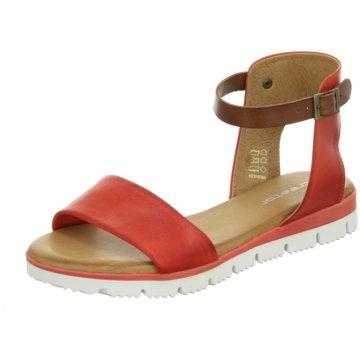 ELENA Italy Sandalette rot