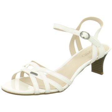 b82e223d015ebf Esprit Birkin Sandals white