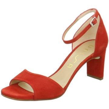 Unisa Top Trends Sandaletten rot