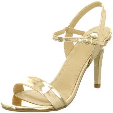 Buffalo Sandalette gold