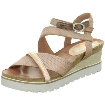 ELENA Italy Sandalette rosa