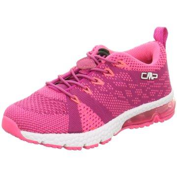 CMP F.lli Campagnolo Sportlicher Schnürschuh pink
