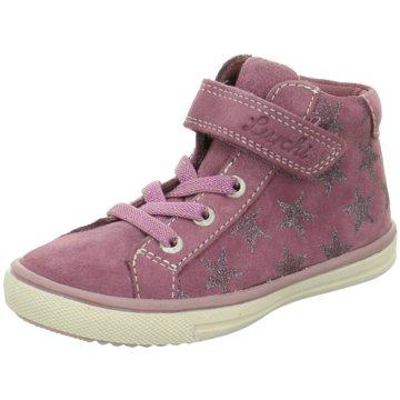 Lurchi Sneaker High rosa
