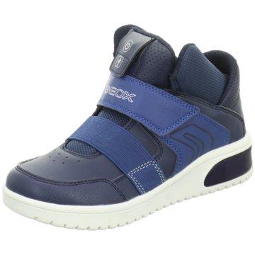 Geox Sneaker HighX LED blau