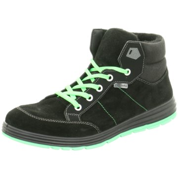 Ricosta Sneaker HighBajo schwarz