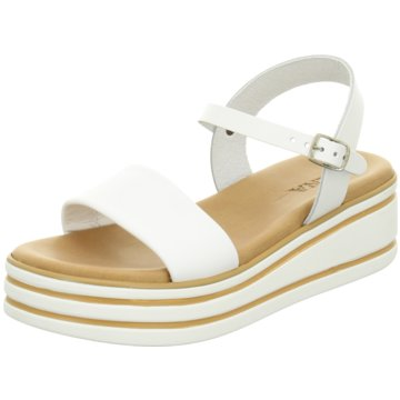 ELENA Italy Sandale weiß