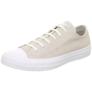 Converse Sneaker LowChuck Taylor All Star Nubuck Tipped Metallic grau