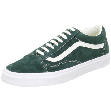 Vans Street LookSuede Old Skool Sneaker grün