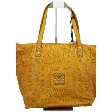 Campomaggi Taschen DamenShopping medium gelb