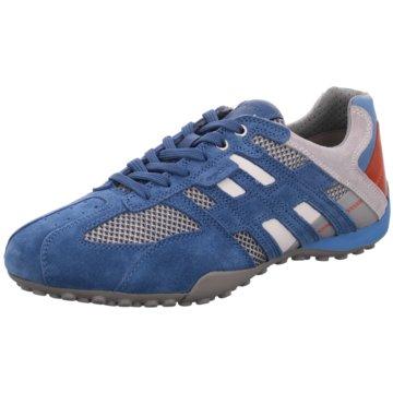Geox Sportlicher SchnürschuhSNAKE blau